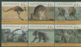 AUS SG1453a Australian Wildlife (2nd series) block of 6 type I